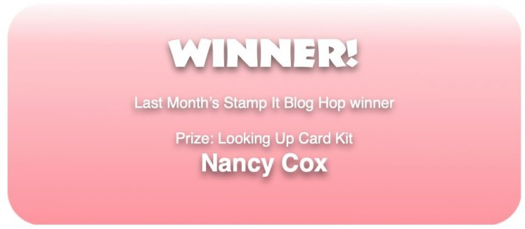 May 2020 Blog Hop Winner